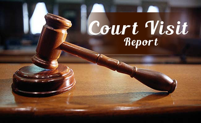 visit court court report District court visit report 1 lok nayak jayaprakash narayan national institute of criminology and forensic science government of india (ministry of home affairs) district court visit report submitted by: shankey verma course: ma (criminology) 1st semester.